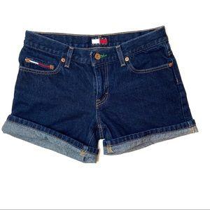 Tommy Hillfiger Vintage Dark Wash Denim Shorts 5